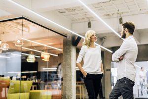 Reter talentos: conversando em escritório