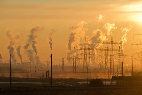 Problemas ambientais, poluição atmosférica