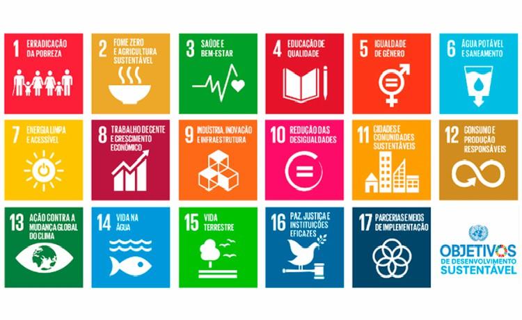 17 Objetivos de Desenvolvimento Sustentável da ONU
