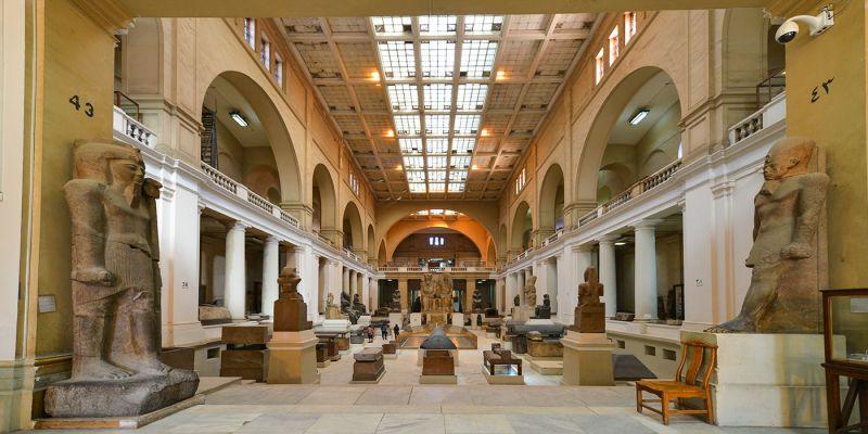 Museu do Cairo, no Egito