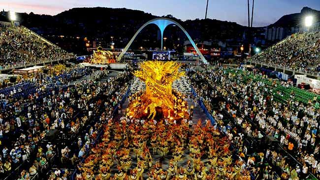 Carnaval é a festa mais reconhecida do Brasil